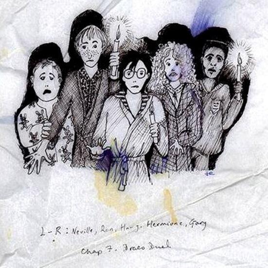 Ескізи Гаррі Поттера від самої Руолінг