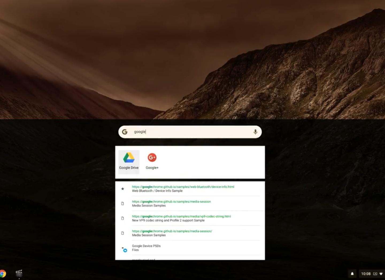 Редизайн Chrome OS для кращої роботи з дотиками