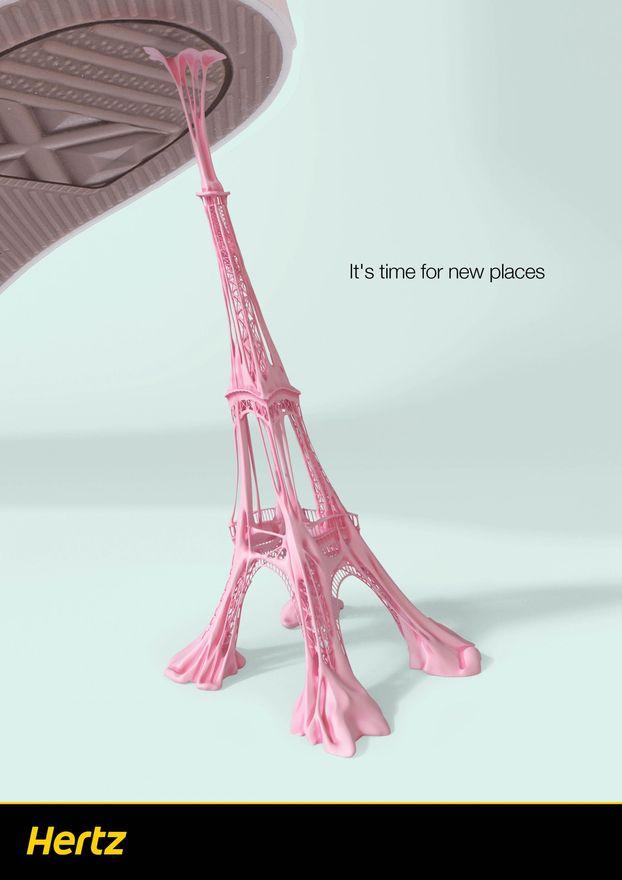 Класний рекламний креатив від Hertz