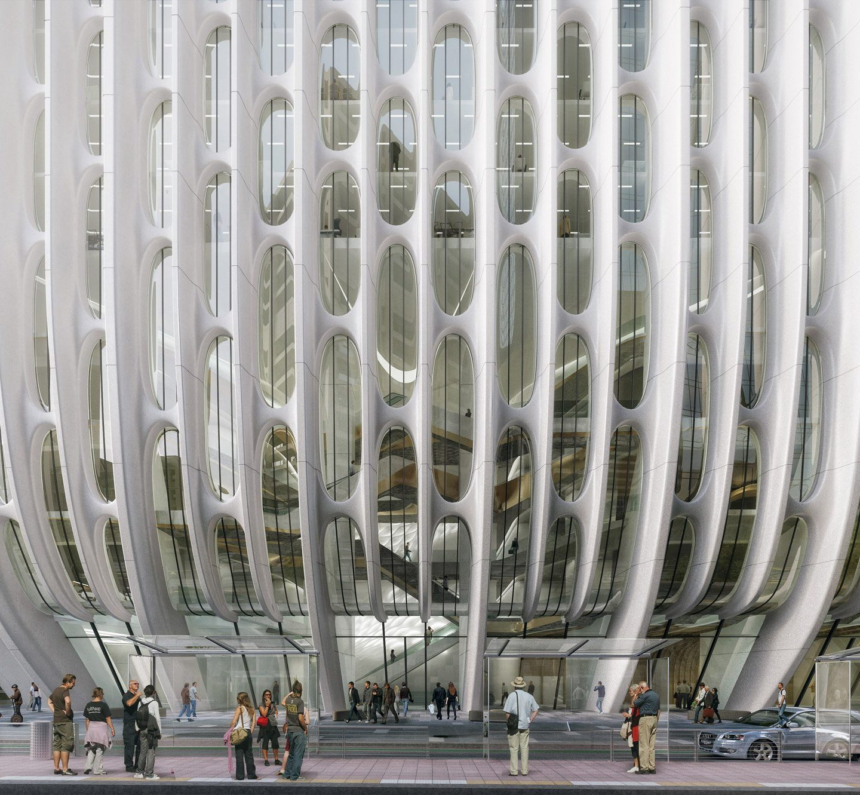 Фантастичний дизайн готелю від Zaha Hadid Architects – у Мельбурні