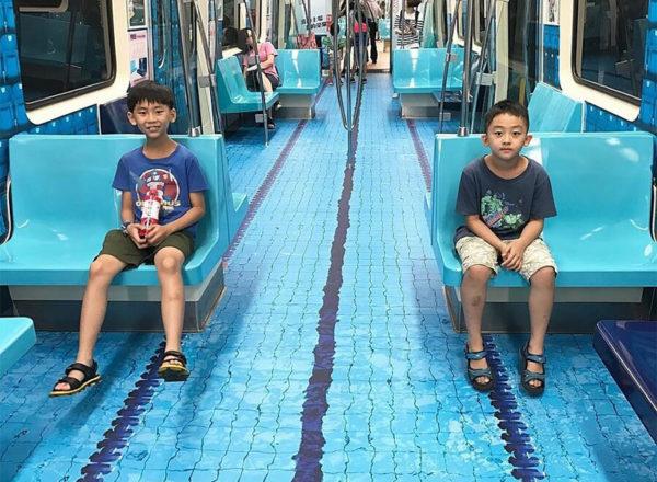 У Тайвані з приводу Універсіади зробили шалений редизайн метро