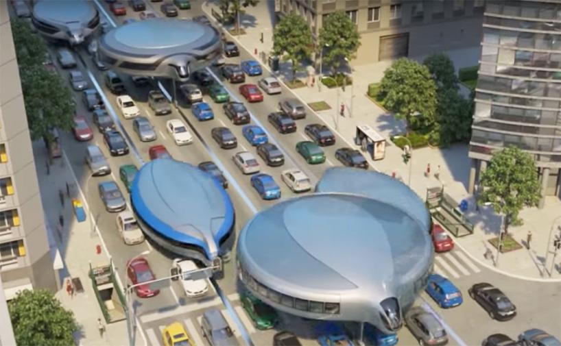 Футуристичний дизайн громадського транспорту – на гіроскопах