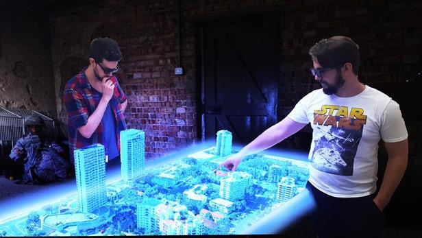 Чи AR і VR – єдине майбутнє? Перший у світі голографічний стіл (Відео)