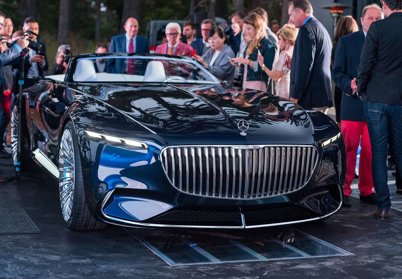 "Розкішний Mercedes-Maybach 6 Cabriolet: дизайн у стилі ""арт-деко"""