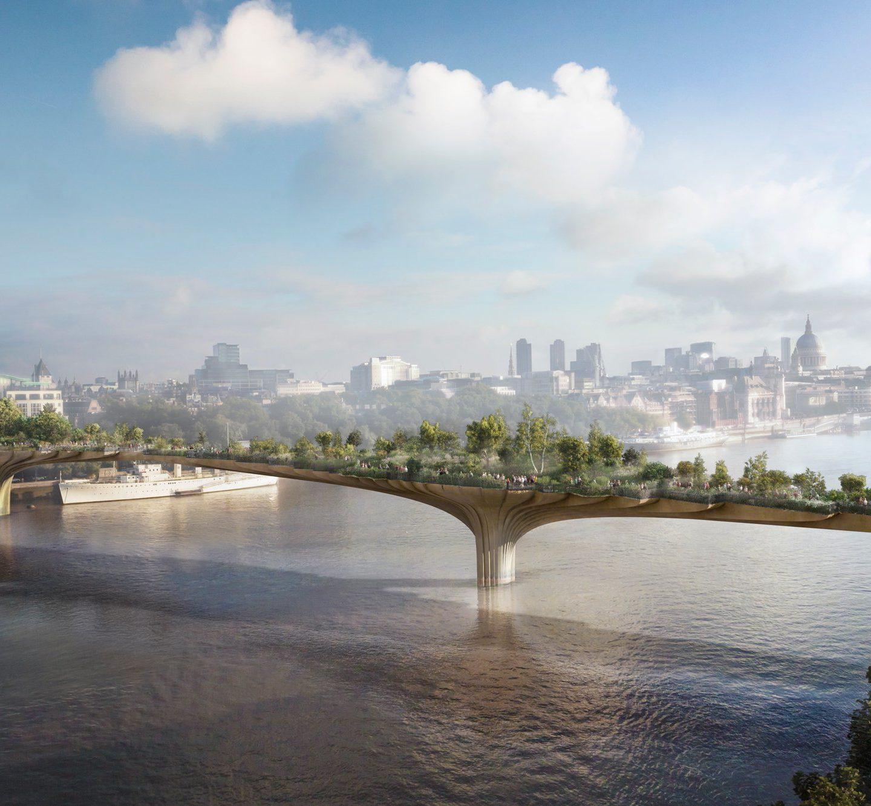 Дива не буде: у Лондоні скасували будівництво мосту-саду