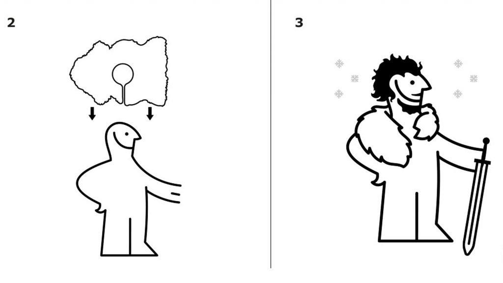 """Як стати схожим на героя """"Гри престолів"""" – інструкція від IKEA"""
