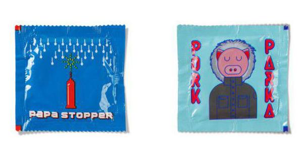 Дизайн для презервативів може бути веселим (Фото)