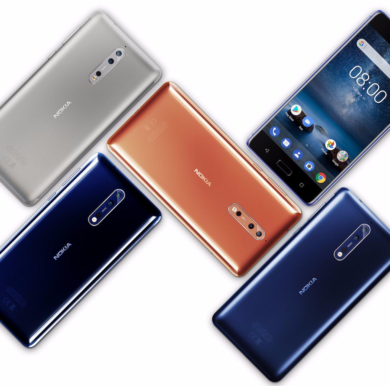Зустрічайте нову Nokia 8: дизайн знову нордичний (Фото)
