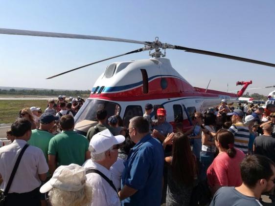 """Перший український гелікоптер """"Надія"""": назва нова, дизайн – без родзинок"""