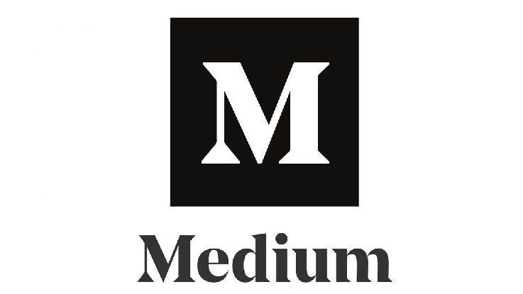 Medium оновив логотип – жодних 3D ефектів + чорний колір