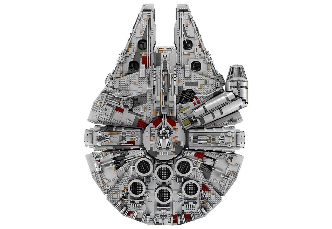 Lego випустила найбільший конструктор у історії: 7541 деталь (Фото)
