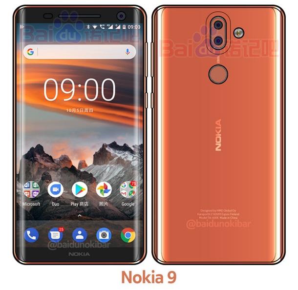 Яким буде Nokia 9: безрамковий смартфон із 3D-скла (Фото)