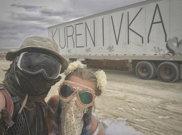 Українці на Burning Man 2017: табір Kurenivka, вечірки і перформанси (Фото)