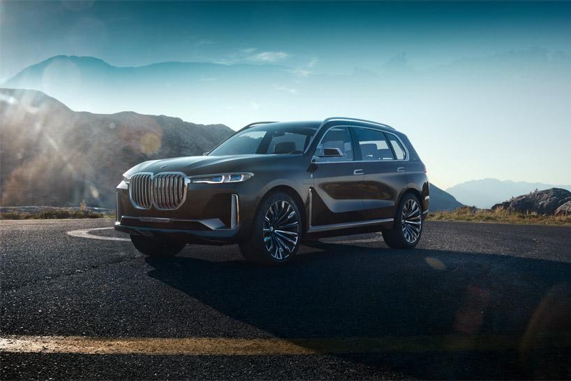 Авто стають все красивішими: вражаючий концепт BMW X7
