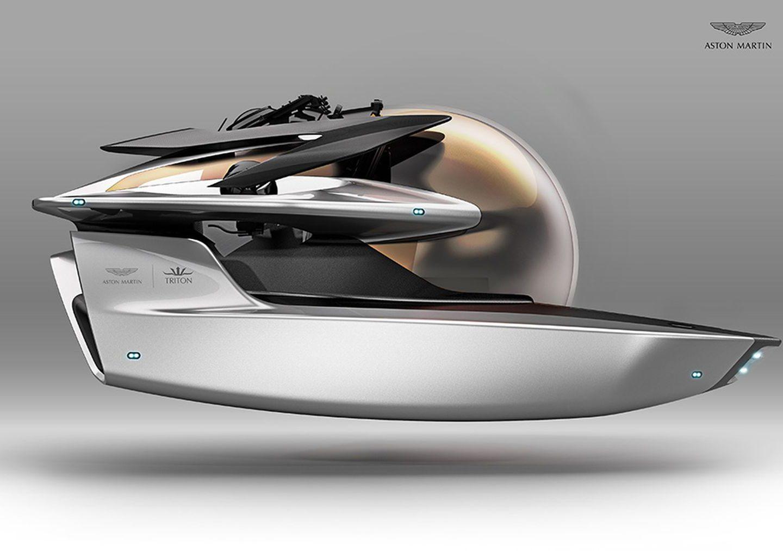 У Aston Martin розробили дизайн … підводного човна!