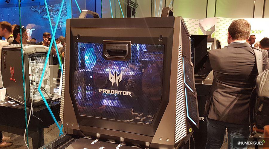 Диво дизайну: Acer створив найпотужніший у світі ігровий ПК на … коліщатах!