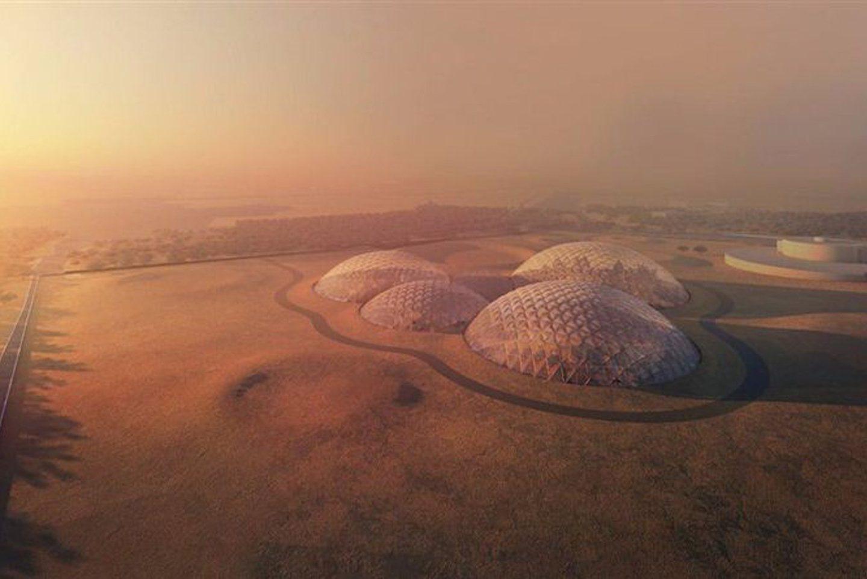 В Дубаях створять симуляцію Марсу з чудовим дизайном (Фото)