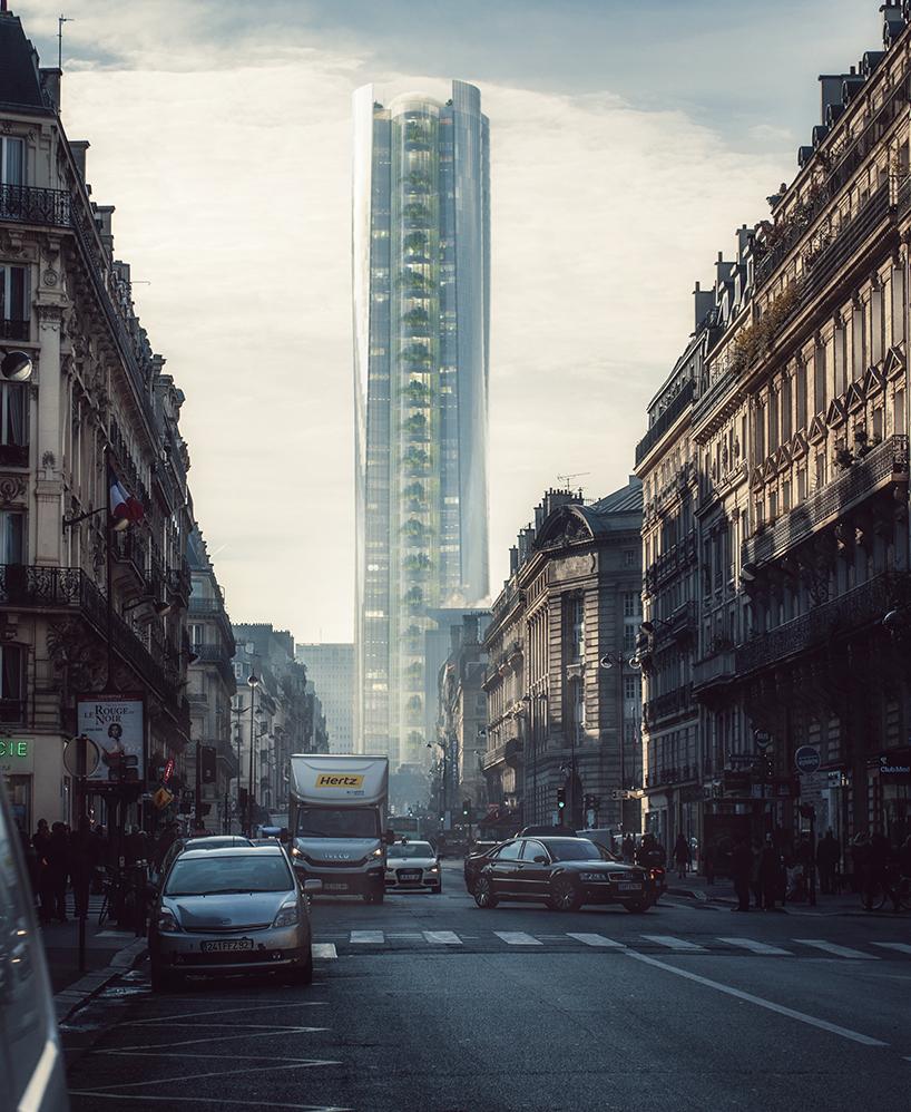 Неймовірна ідея від китайських архітекторів – для Парижу (Фото)