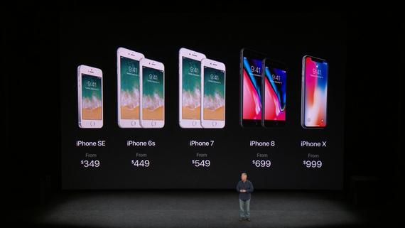 Все про новий iPhone X: без рамок, кнопки і з Face ID (Фото, Відео)