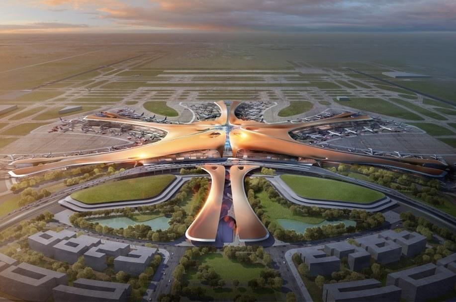 Гігантизм Китаю продовжується: найбільший у світі термінал для аеропорту (Фото)