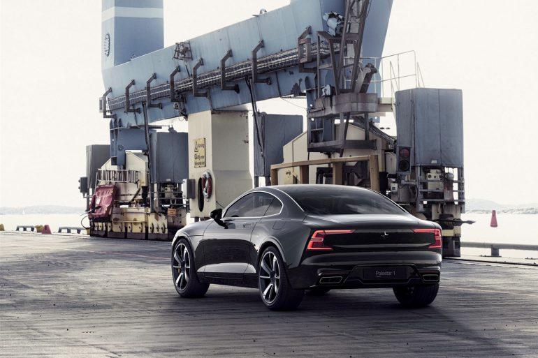 Чудовий дизайн від Volvo: модель Polestar 1