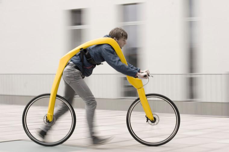 Німці вигадали дизайн велосипеда … без педалей (Фото)