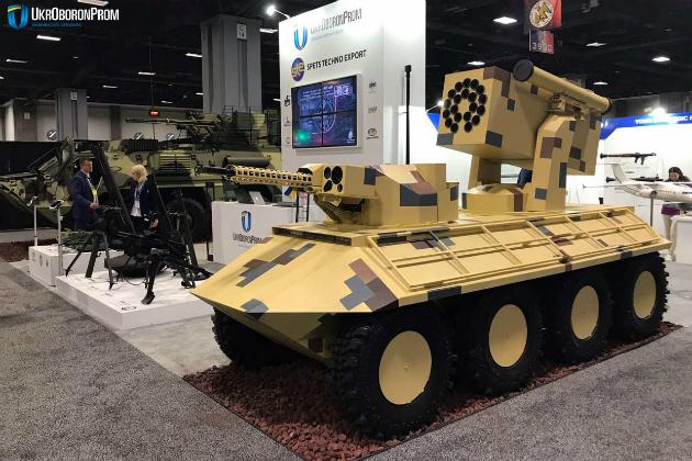 БТР-4 і міні-бронетранспортер: український військовий дизайн підкорює США