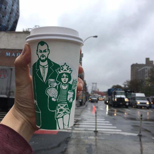 Таємне життя русалки Starbucks: версія ілюстратора з Південної Кореї