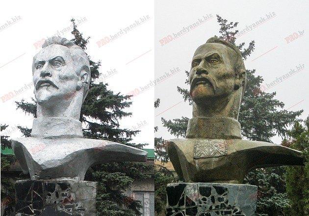 Як із пам'ятника Леніна зробити Максима Кривоноса: декомунізація+дизайн (Фото)
