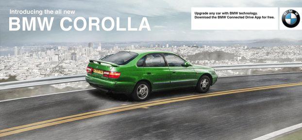 """Як дизайнери BMW красиво """"обстібали"""" тих, хто не може купити собі нове авто"""