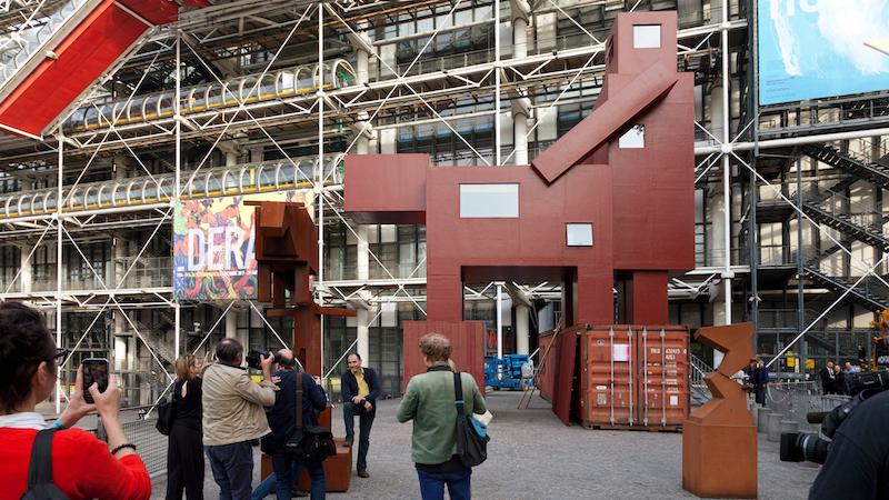Голландська жесть: велитенська інсталяція присвячена … сексу (Фото)