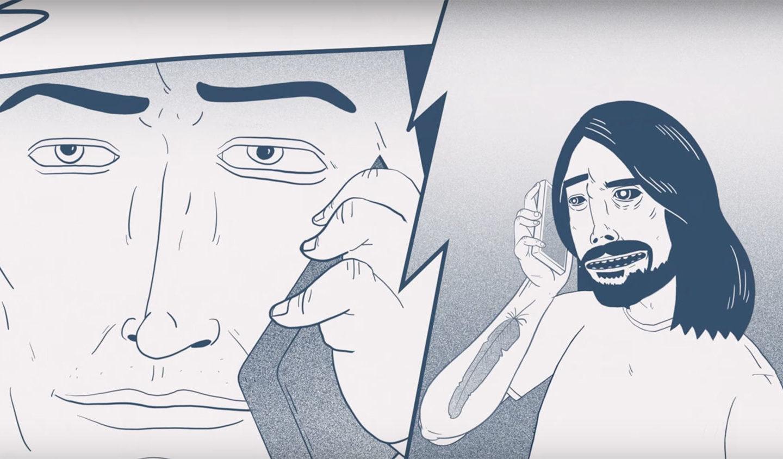 Шалена анімація: мультиплікаційне інтерв'ю соліста Foo Fighters