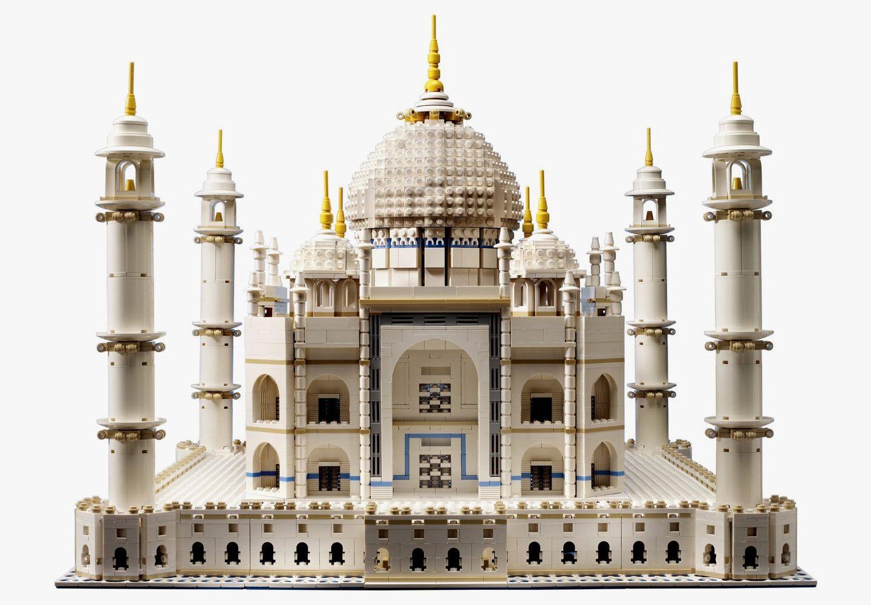 Мрія архітектора: рекордний конструктор Тадж-Махал – на 5923 блоків!