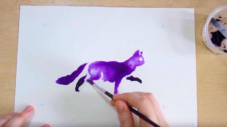 Ноу-хау: анімоване малювання чорнилами (Відео)
