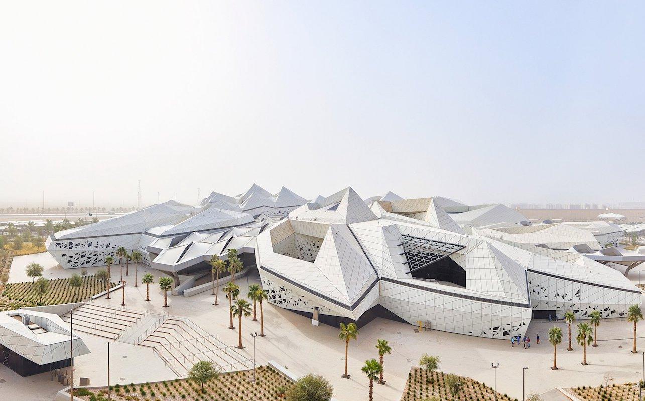 Інопланетний дизайн в пустелі Саудівської Аравії – від Zaha Hadid