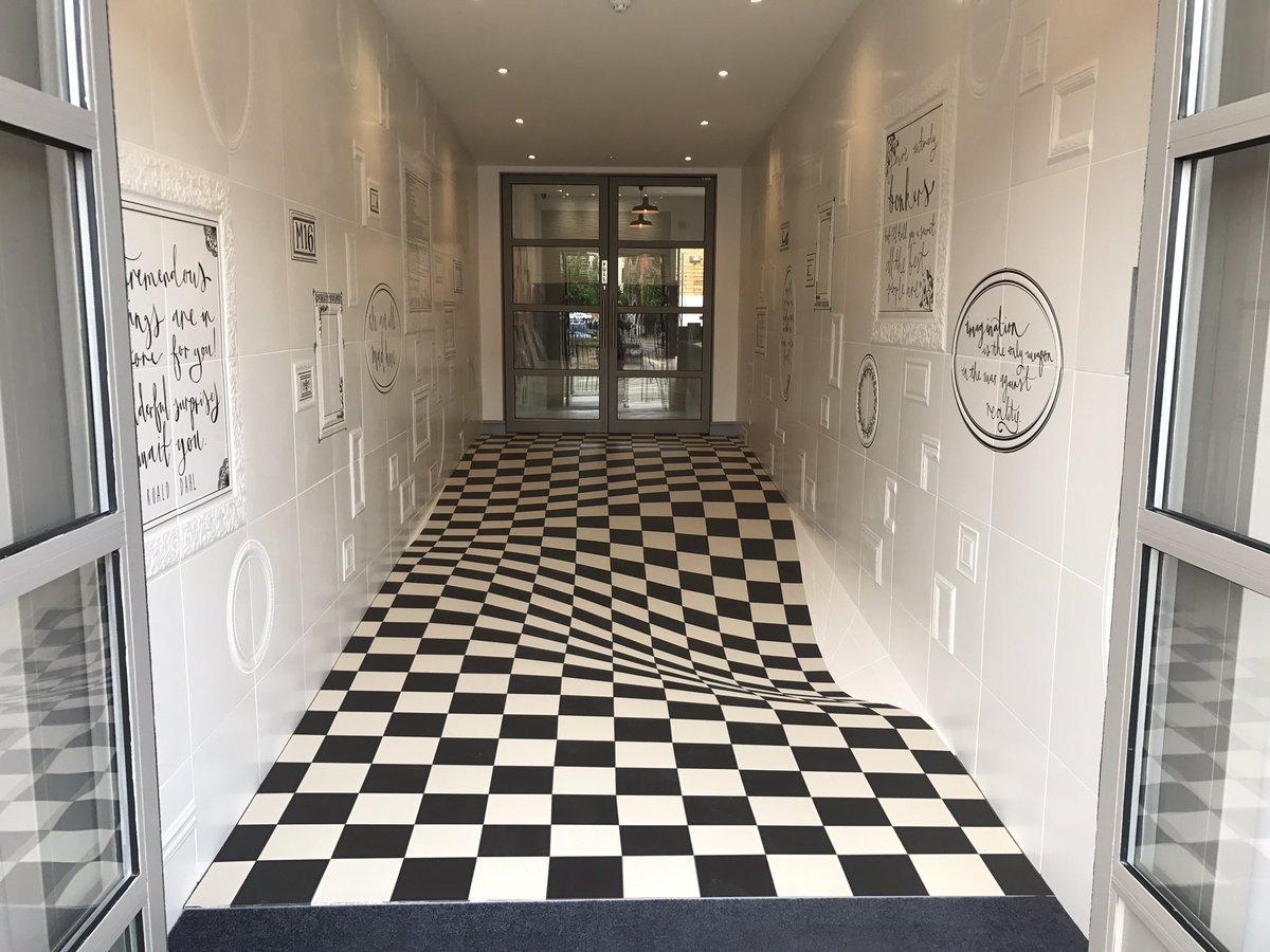 Кейс від британців: як правильно використовувати оптичну ілюзію (Фото)