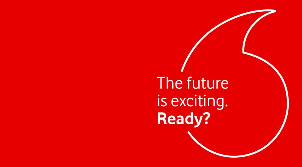 Ніякої об'ємності: Vodafone оновила логотип