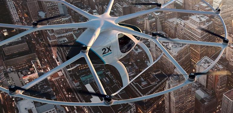 """""""Волокоптер"""" – нове слово у дизайні автономних повітряних таксі"""