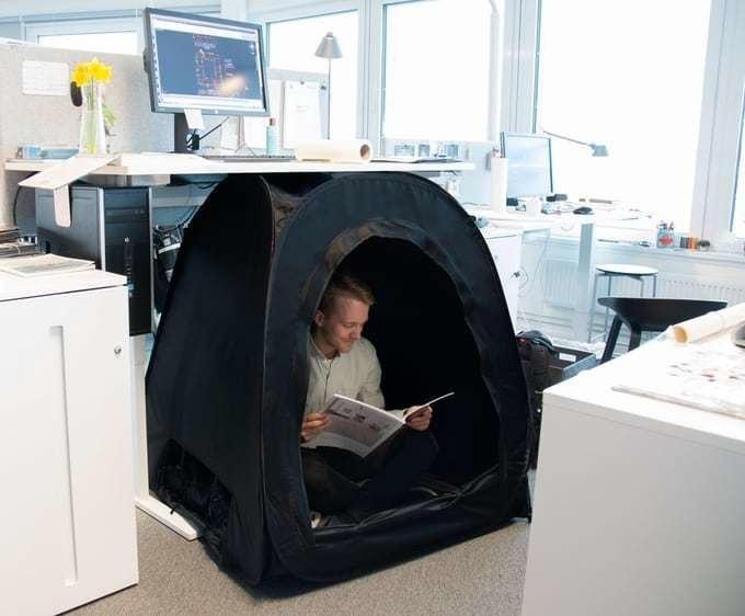 """Повна жесть: палатка """"для ніг"""" за $99 – від шведів"""