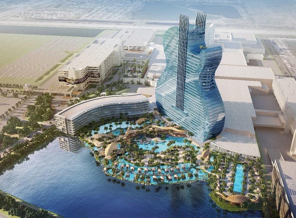 Hard Rock: у Голлівуді будують готель у формі велетенської електрогітари