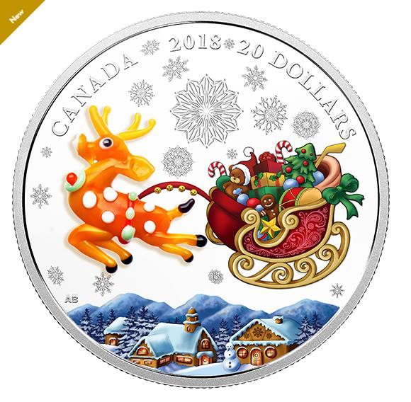 Канадська різдвяна монета від етнічної українки: дуже мило і по-святковому (Фото)