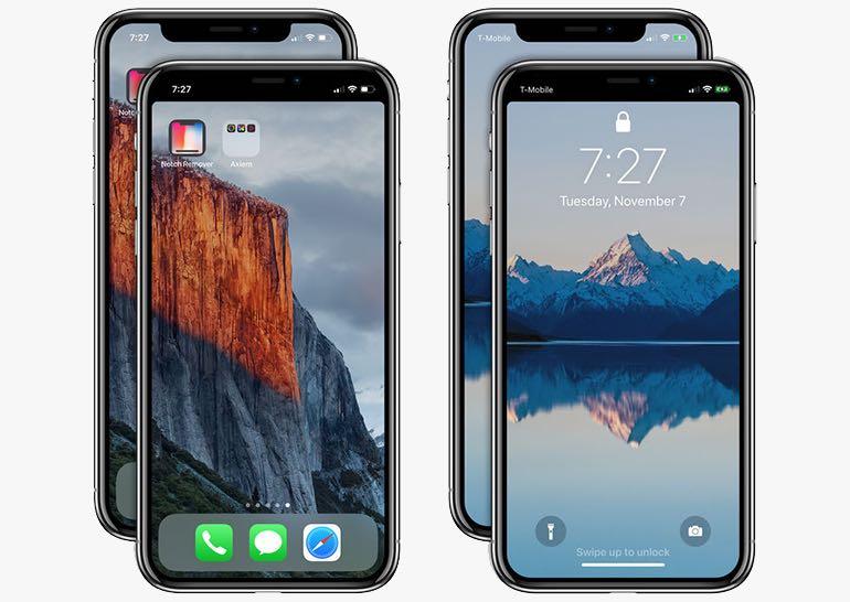 """Недосконалий дизайн iPhone X: вийшов додаток, що прибирає """"вушка"""""""