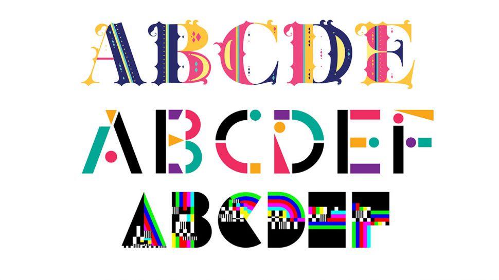 Adobe випустила 5 безкоштовних шрифтів, і вони різнобарвні