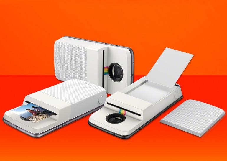 Реінкарнація ідеї Polaroid для смартфона Motorola