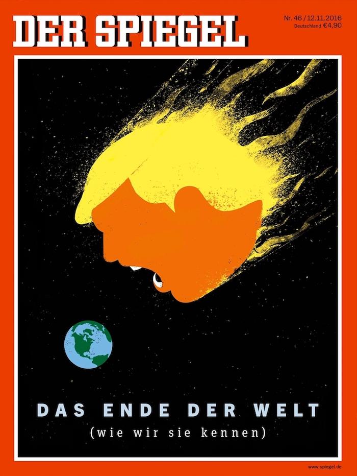 Цей дизайнер точно знає, як ілюструвати Трампа