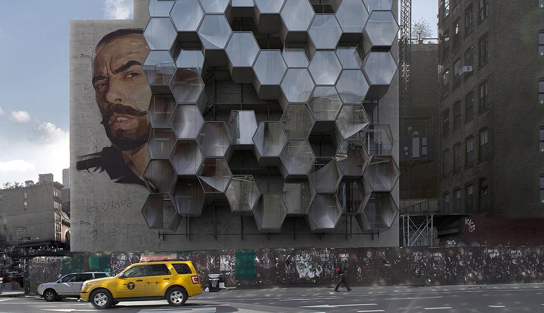 3D-друковані будинки для безпритульних у США – прямо на стінах (Фото)