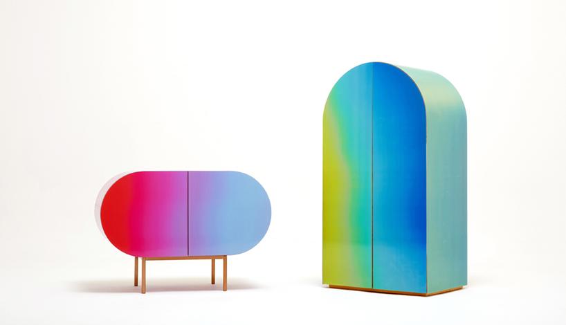 Мінімалістичний дизайн меблів від корейців – Lenticular