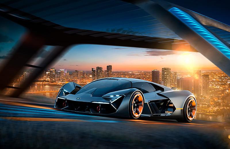 Фантастика, а не дизайн: концепт Lamborghini Terzo Millennio