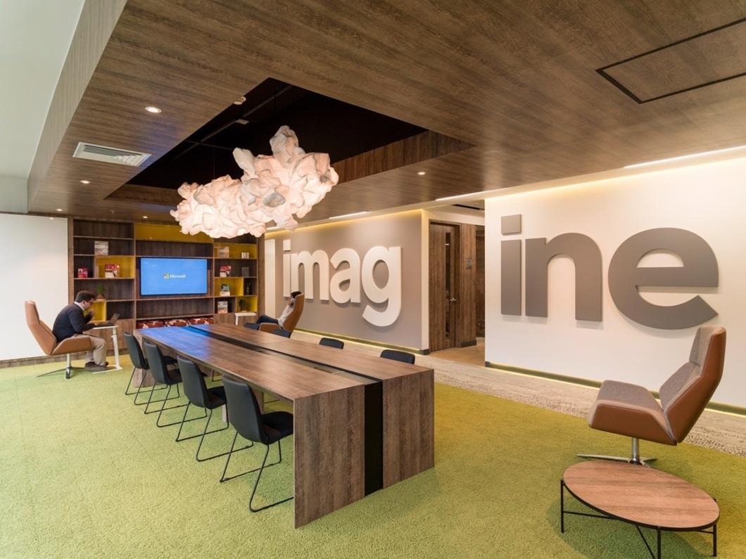 Як виглядає офіс Microsoft в Боготі (Фото)