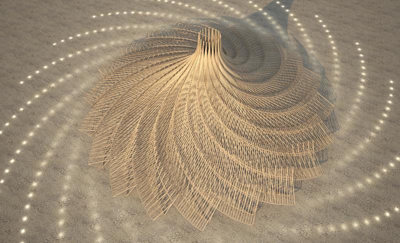 Культовий фестиваль Burning Man обрав дизайн головної споруди на 2018 рік